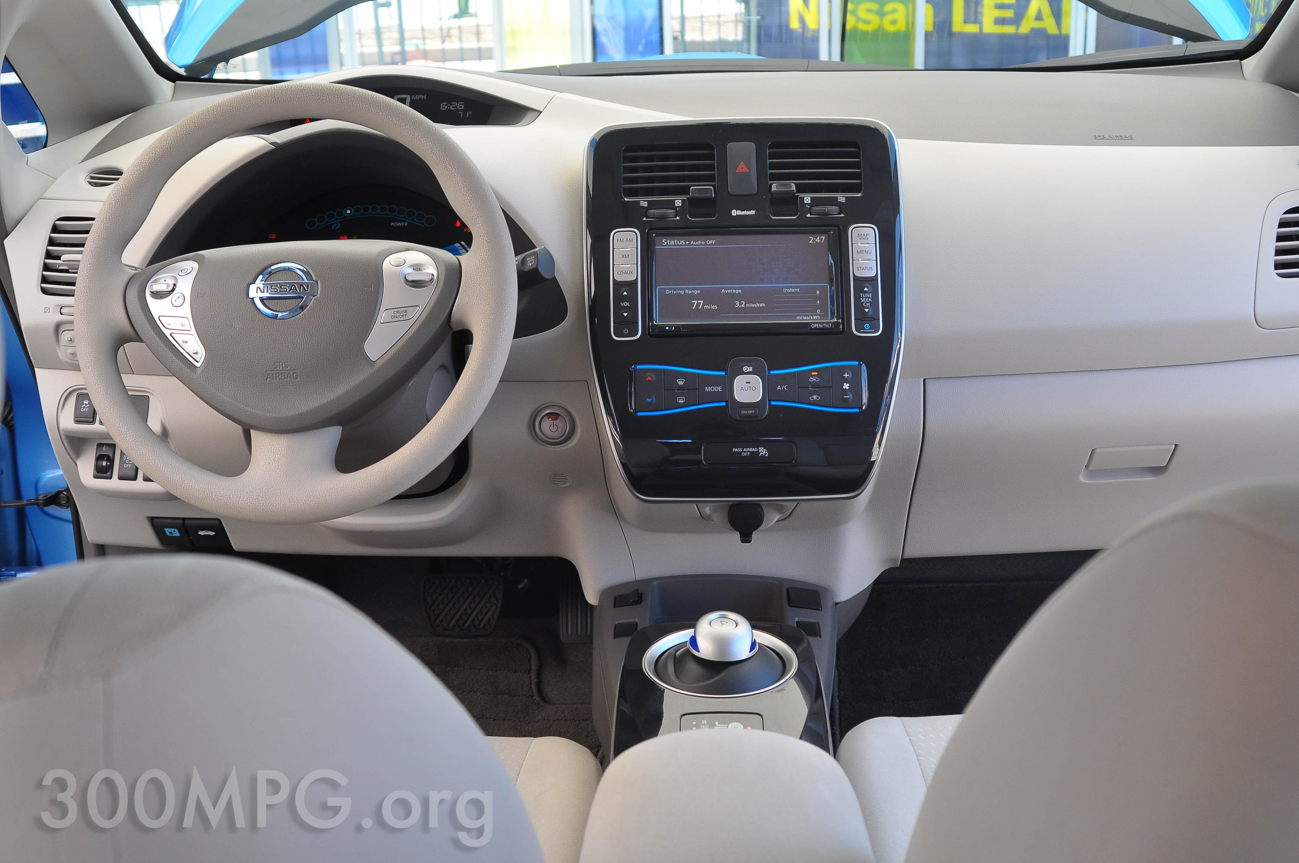 Nissan test drive chicago nissan leaf interior vanachro Gallery