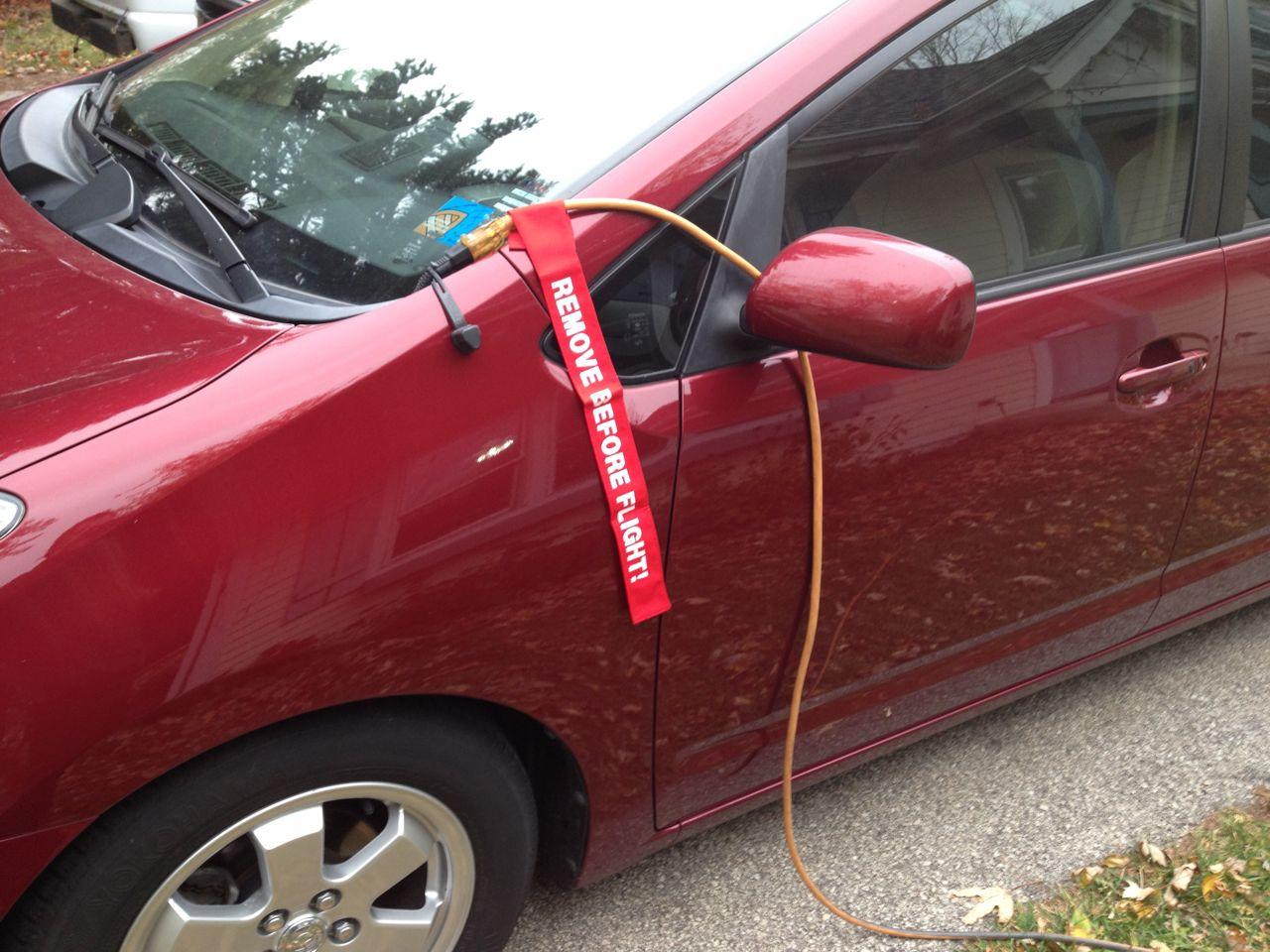 Block Heater Unplug Reminder Fuel Economy Hypermiling