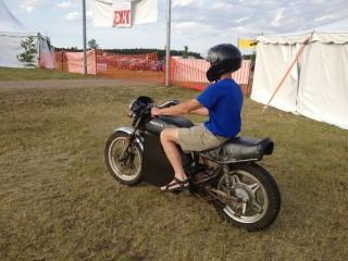 Chris F. test-rides Ryland's EV Honda