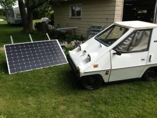 Solar Charging my Citicar