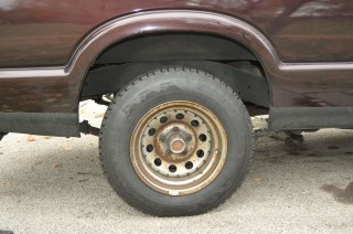 Snow tire w/ stock ride height