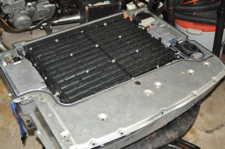 Deconstructing A Ford Escape Hybrid Battery Pack For The Motorcycle 300mpg Org