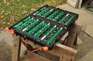 Deconstructing A Ford Escape Hybrid Battery Pack For The