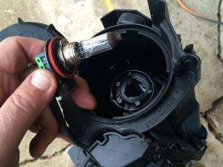 Original 55 watt halogen H11 low beam driving light bulb