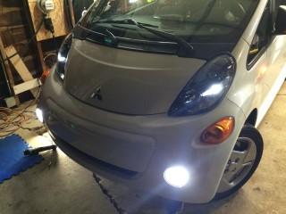 LED DRLs and LED Parking lights.