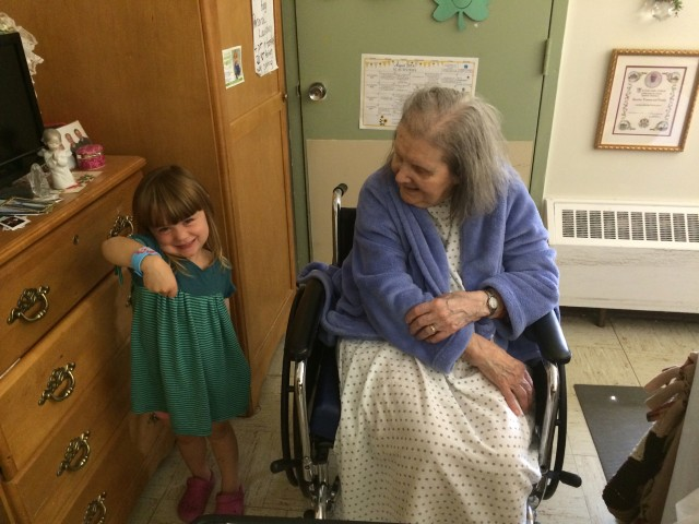 A 2014 visit with Grandma
